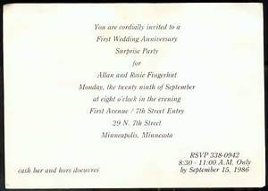 first anniversary invitations With 1st wedding anniversary invitations wording