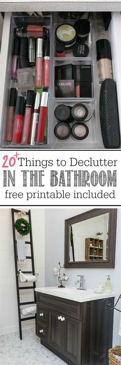 Declutter, Things To And Bathroom On Pinterest
