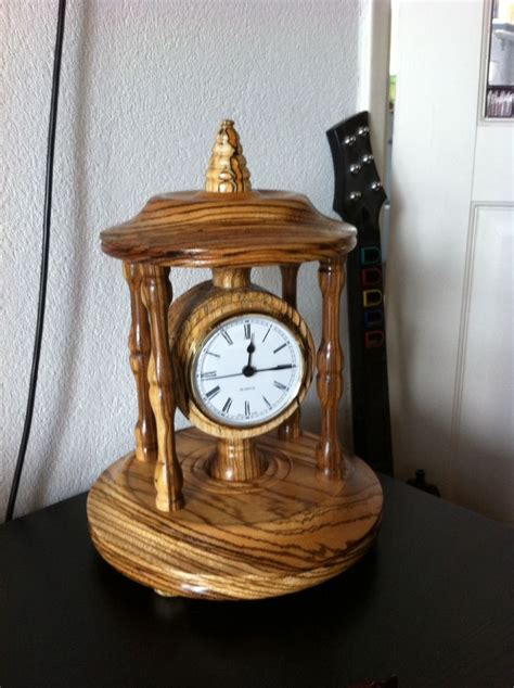 wood clock projects images  pinterest wood