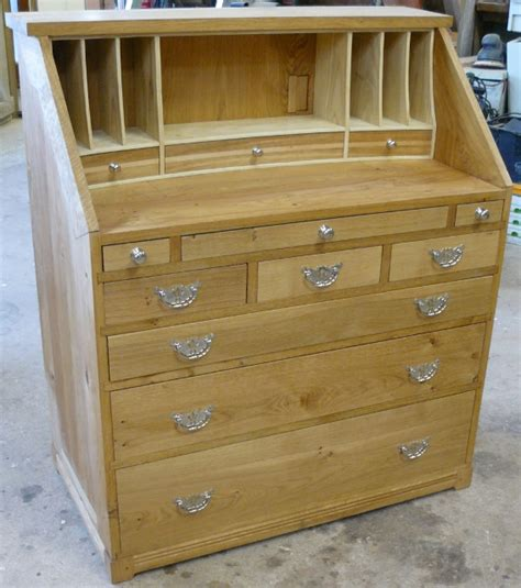 oak writing bureau uk oak homes joinery oak writing bureau with bleached ash