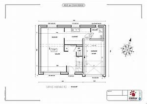 plan maison r1 de 92m2 13 messages With plan maison etage 100m2 3 plan de maison 100m2 avec garage idees novatrices de la