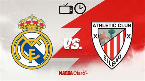 Partidos de hoy: Real Madrid vs Athletic Bilbao: Horario y ...