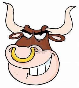 Angry Skull Designs Of Angry Bull Head Cartoon Tattoomagz