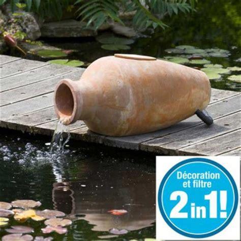 2 En 1 Découvrez Amphora Cascade De Jardin Et Filtre De