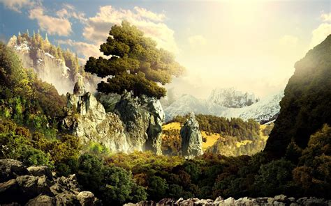 epic fantasy wallpapers background extra wallpaper p
