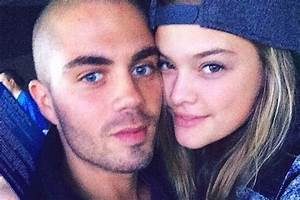 Max George 'splits from Nina Agdal' as stunning model is ...