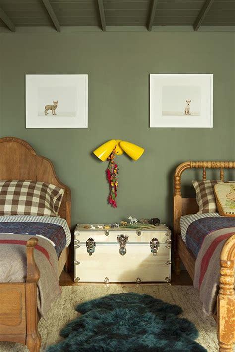 chambre kaki décoration chambre kaki