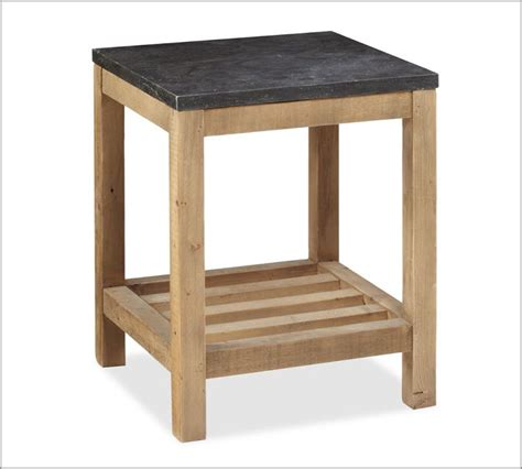 wood side table plans diy end table pottery barn knock off