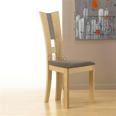 chaise en hetre massif chaise salle à manger moderne hêtre massif de flora