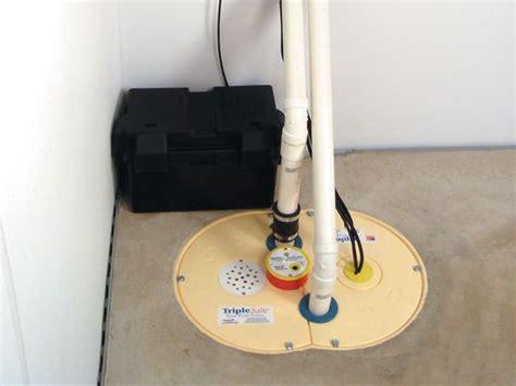 sump pump installation indiana foundation service