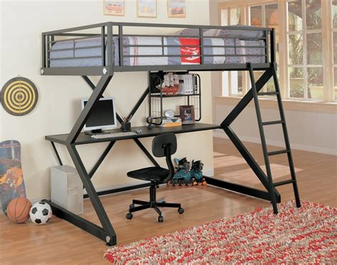 bunk loft with desk 10 best loft beds with desk designs decoholic
