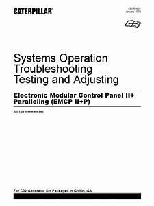 Electronic Modular Control Panel Ii   Paralleling   Emcp