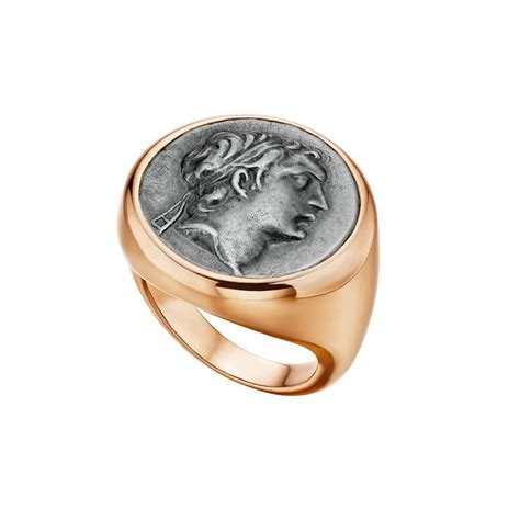 bulgari monete gold ancient coin ring refashioning ancient artefacts into unique jewellery the