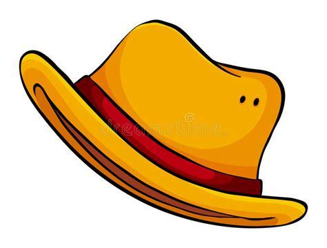 Yellow Hat Stock Vector. Illustration Of Elementary