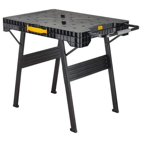 home depot work bench dewalt 33 in folding portable workbench dwst11556 the