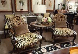 Safari Themed Living Room by Leopard Print Furniture