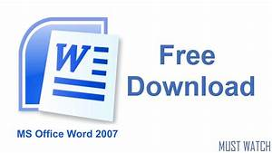 How To Download  U0026 Install Microsoft Office 2007 For Free  100