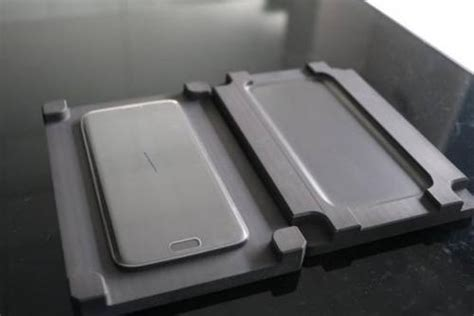 china thermal bending graphite mould  mobile phone screen china hot pressing die sintering