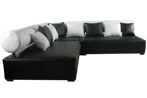 nettoyer canap simili cuir blanc photos canapé noir et blanc simili cuir