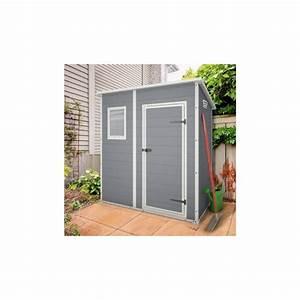 Abri Jardin Keter : abri de jardin en r sine 2 06m monopente plancher keter ~ Edinachiropracticcenter.com Idées de Décoration