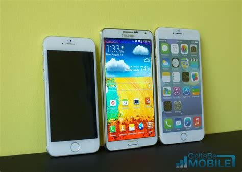iphone 6 notes galaxy note 3 vs iphone 6 5 key details