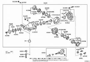 Lexus Sc 430 Washer  Plate  For Rear Differential Side