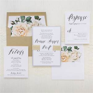 modern calligraphy customizable wedding invitations With wedding invitation calligraphy prices