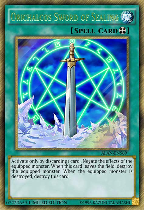 orichalcos sword of sealing by alanmac95 on deviantart