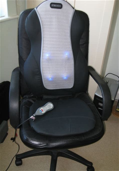 homedics swedish style chair massager review