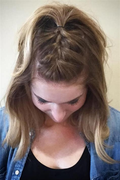casual  easy updos  short hair hair styles