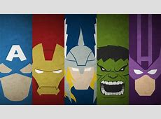 50 Minimalist HD Avengers Wallpapers to get you ready for