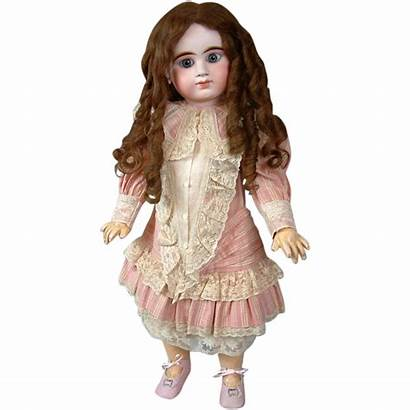 Human Hair Antique Wig Doll Fabulous French