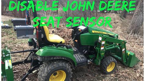 disable john deere seat sensor youtube