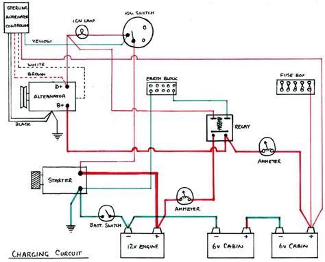 basic 12 volt boat wiring diagram 33 wiring diagram
