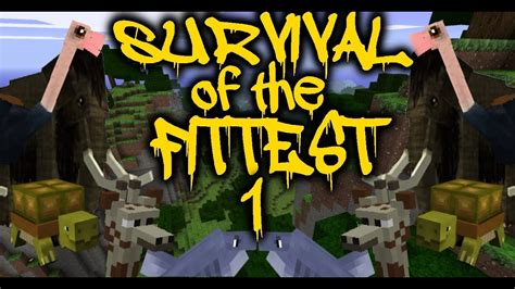 Minecraft: Survival Of The Fittest Let's Play Ep #1 ...