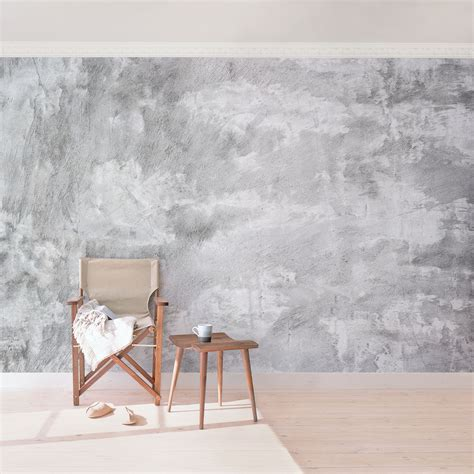 Tapete Shabby Look by Carta Da Parati Larga Concrete Wallpaper Industry Look