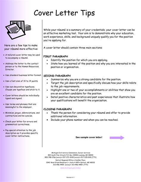 resume cover letter exles resume cv
