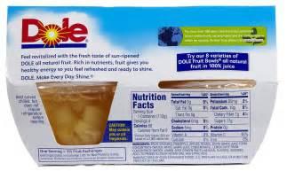dole fruit snacks dole fruit bowls mixed fruit in light syrup 4 oz 3 pack
