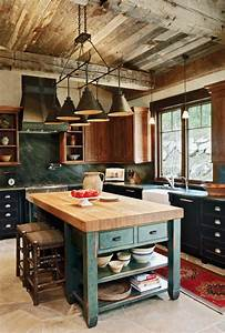 Rustic Kitchen Design Inspiration