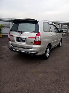 Toyota Kijang Innova G Diesel Manual 2013 Silver
