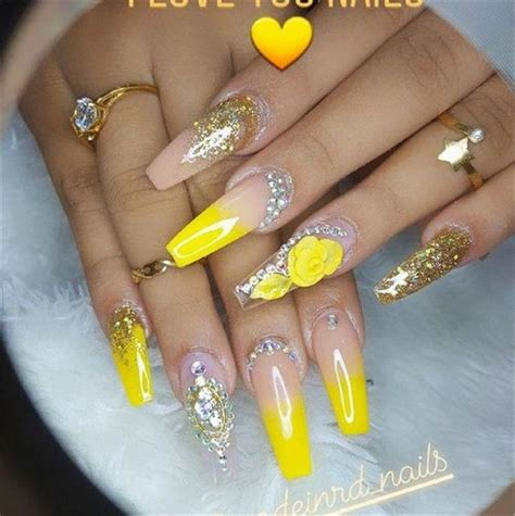 hot fashion coffin nail trend ideas long coffin