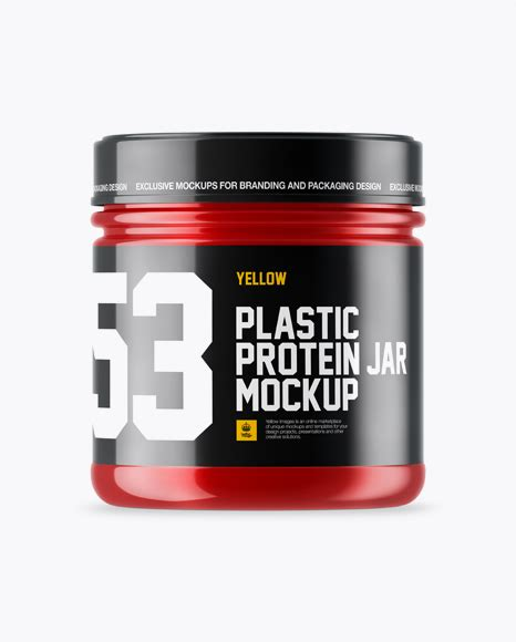 Find & download free graphic resources for plastic protein jar. Glossy Plastic Protein Jar Mockup Jar Mockups - Free Etsy ...