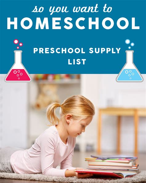 homeschooling preschool supply list 187 one beautiful home 369 | So you want to homeschool