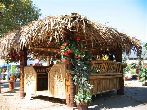 tropical tiki huts each tikihut kit is built to order using the highest