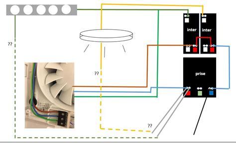 branchement extracteur interrupteur communaut 233 leroy merlin