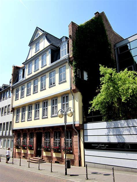 Filegoethehaus In Frankfurt Am Mainjpg  Wikimedia Commons