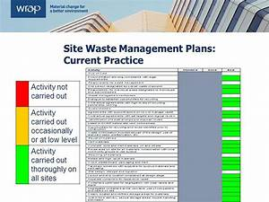 site waste management plans and the code ppt video With waste management plans template