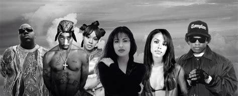 Biggie, Tupac, Left Eye, Selena, Aaliyah & Eazy-e