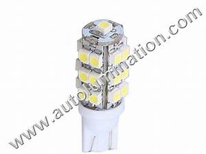 Auto Bulb Replacement Chart Autolumination 194 Smt Iii 25smd 1210 Bulb T10 Wedge