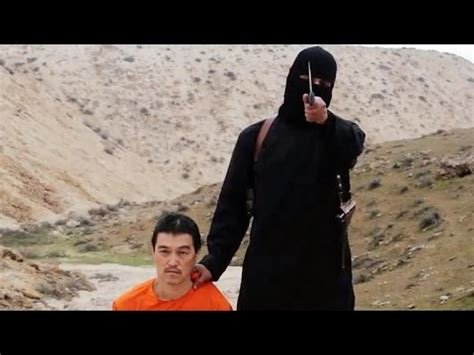isis releases  video  beheading youtube